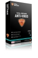Total Defense Anti-Virus 3PCs French Annual - 1 Year Subscription